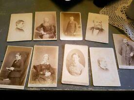 9 vintage Victorian/Edwardian photos
