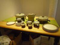 Selected Denby Crockery - 2 Casserole, Coffee pot etc