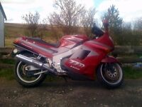 Kawasaki ZZR1100 C1, full mot, lovely to ride !.