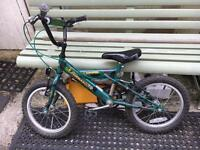 Child's bumper commando bike
