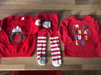 Small Christmas bundle 3-6 months