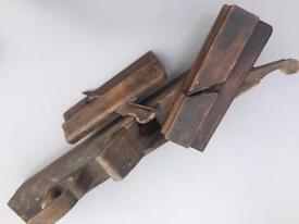 Vintage woodworking tools