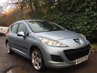 PEUGEOT 207 ESTATE **2010** **DIESEL** £30 PER YEAR ROAD TAX** FULL SERVICE HISTORY**