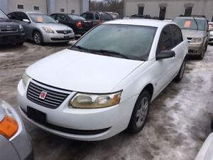 2006 Saturn Ion CALL 519 485 6050 CERTIFIED