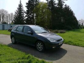 Ford Focus with 1 year MOT