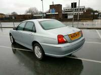 2002 ROVER 75 2.0 PETROL ENGINE V6 LOVELY CAR THROUGH OUT SERVICE HISTORY