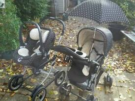 Great mammas and pappas 8-1 ultima travel system