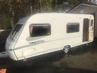ABBEY FREESTYLE 2006 6 BERTH FIXED END BUNKS