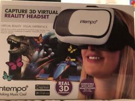 Intempo Capture 3D Virtual Reality Headset (NEW)