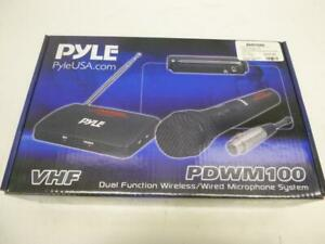 Pyle Dual Function Wireless/Wired Mic - We Buy And Sell Mics - 13002 - MY59411