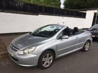 Peugeot 307 CONVERTIBLE LOW MILEAGE!