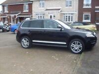 2006 Black VW Touareg Altitude Tdi, Automatic, £6500 ono