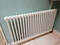 twin cylinder bathroom radiator