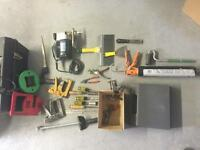 Various hand tools, power tools, electrical