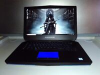 NEW ALIENWARE GAMING LAPTOP 15,6 IPS -QUAD CORE i7 -DEDICATED GTX-SSD&SSHD-16GB-WARRANTY-UK DELIVERY for sale  Leicester, Leicestershire