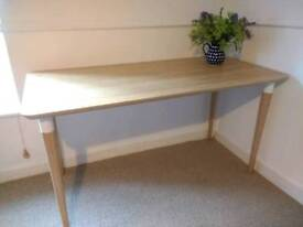 Wooden bamboo desk table