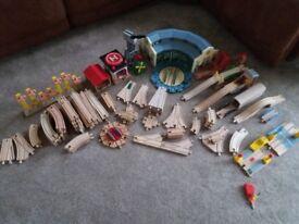 Thomas wooden track