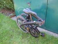 Dahon MU Uno single speed folding bike