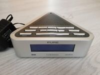 PURE Chronos Digital DAB Alarm Clock Radio