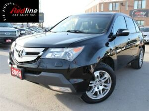 2009 Acura MDX SH-AWD Bluetooth-Leather-Sunroof