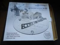 Tempered Glass Cutting Cheese Board **BRAND NEW** £15 FREE DELIVERY