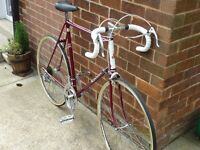 Vintage Raleigh 10 Speed Road Bike Size L in Perfect Order