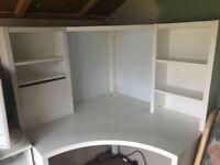 Ikea Micke corner desk for sale.