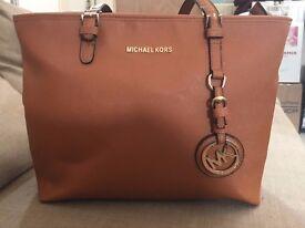 Large Orange Handbag.