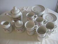 Royal Doulton tea service