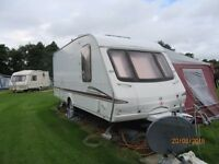 SWIFT CHARISMA 555 (2005) 4 BERTH CARAVAN