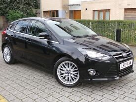 Ford Focus 1.0 SCTi EcoBoost Zetec 5dr£7,500 p/x welcome 12 MONTHS NATIONWIDE WARRANTY