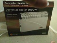 Convector Heater 2000 watts.
