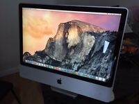 "iMac in excellent condition. 24"" Screen. 500 GB HDD. 4 GB Ram"
