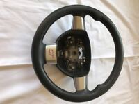 focus st steering wheel
