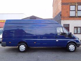 NO VAT Ford Transit Jumbo 350 extra long wheel base 06 plate truly unabused van (41)