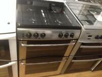Belling silver gas cooker