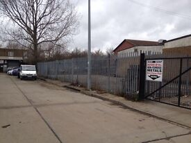 Car & Commercial Yard To Let 3909 spft short & long term available