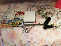 Wii consule and games