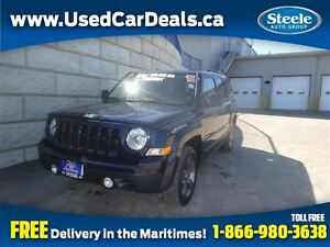 2015 Jeep Patriot High Altitude 4X4 Htd Lthr Sunroof
