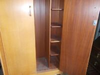 Vintage G Plan fitted wardrobe by E GOMME