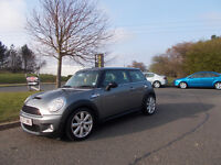 MINI COOPER S LIMITED EDITION 6 SPEED STUNNING GREY 2007 BARGAIN ONLY £3450 *LOOK* PX/DELIVERY