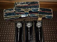 Shure Prologue Microphones x 3