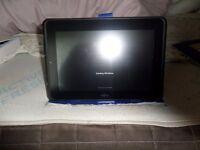 fujitsu touch screen tablet running win 7