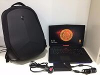 Alienware 17 R2 Gaming Laptop - i7 4710HQ @ 2.50GHz | 16GB RAM | 980M | 128GB & 500GB SSDs + 1TB HDD