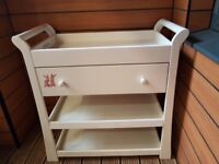 Baby changing table/Unit with drawer