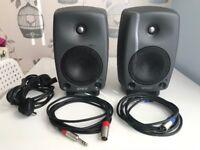 Genelec 8030A Bi-Amplified Studio Monitors