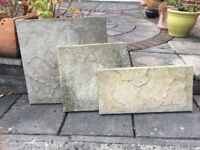 Genuine Riven Cotswold Stone Slabs used in great condition