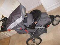 Baby Trend 3 wheeler all terrain pushchair