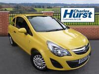 Vauxhall Corsa S AC (yellow) 2014-01-31