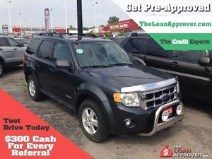 2008 Ford Escape XLT * POWER ROOF * LEATHER London Ontario image 1